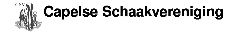 Capelse Schaakverening